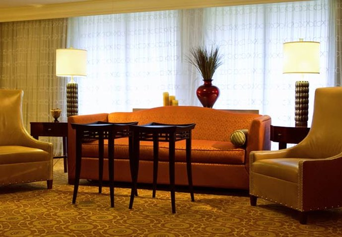 Marriott Greensboro-High Point Airport View of room