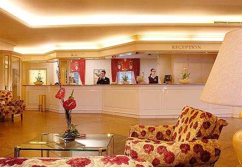 漢堡機場萬豪庭院酒店 - Lobby
