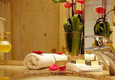 漢堡機場萬豪庭院酒店 - Junior Suite Bathroom