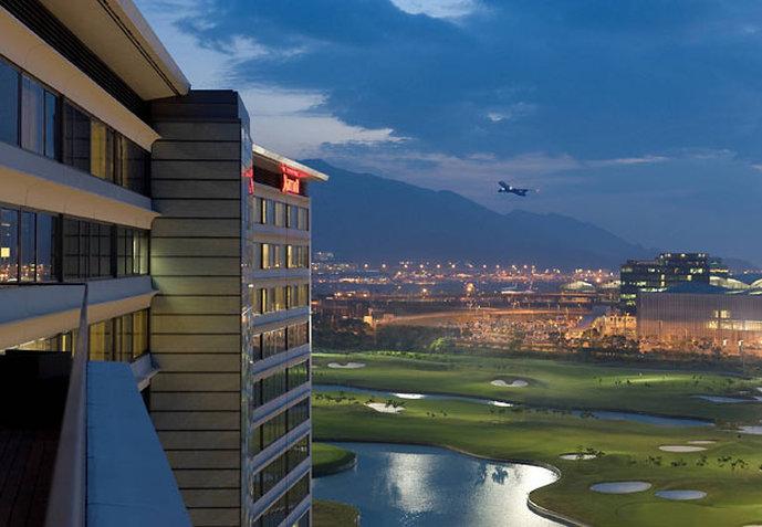 Hong Kong SkyCity Marriott Hotel Außenansicht