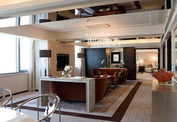 Hong Kong SkyCity Marriott Hotel Zimmeransicht