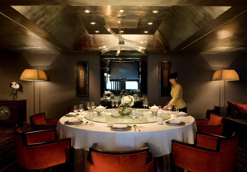 Hong Kong SkyCity Marriott Hotel Gastronomía
