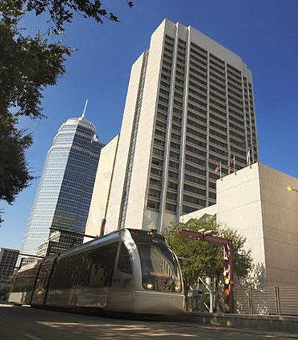Houston Marriott Medical Center Pohled zvenku