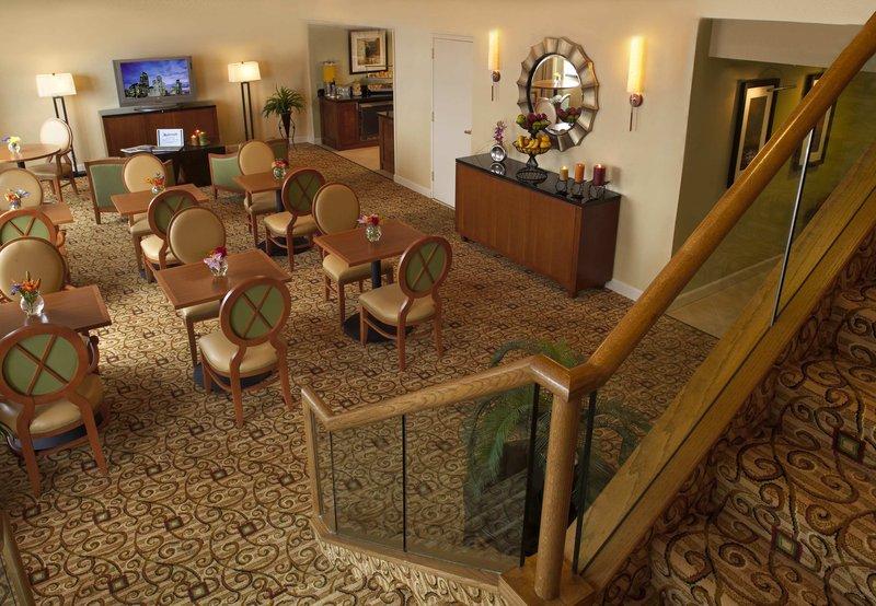 Houston Marriott Medical Center Bar/salónek