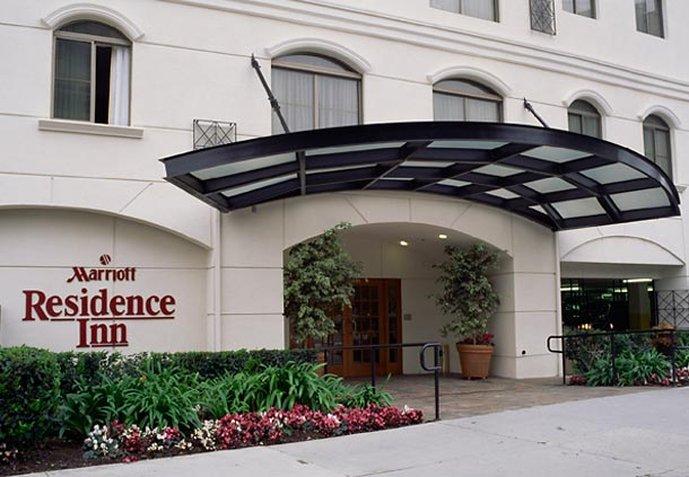 Residence Inn Beverly Hills Pohled zvenku