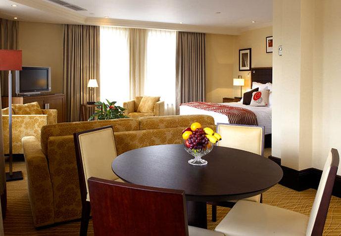 Marriott Leeds Hotel Szobakilátás