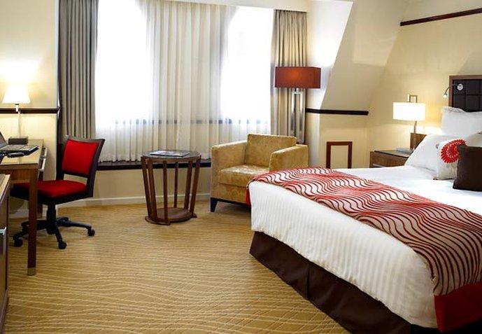 Marriott Leeds Hotel View of room