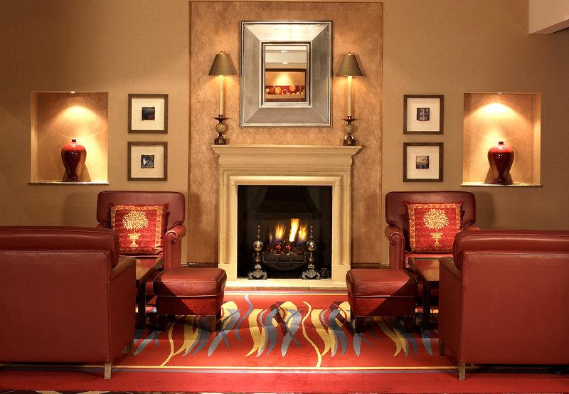 London Marriott Hotel Marble Arch Lobby
