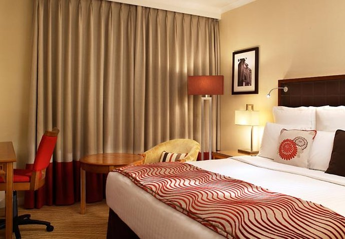 London Marriott Hotel Marble Arch Zimmeransicht