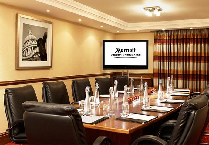 London Marriott Hotel Marble Arch Tagungsraum