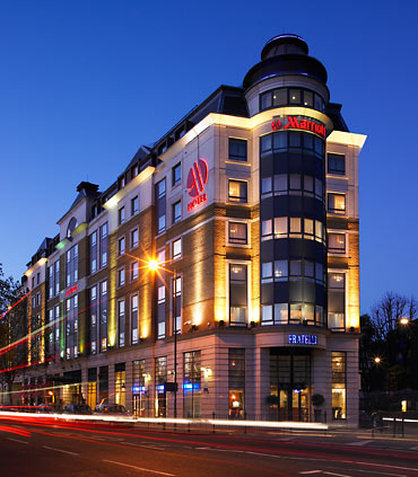 London Marriott Hotel Maida Vale Fasad