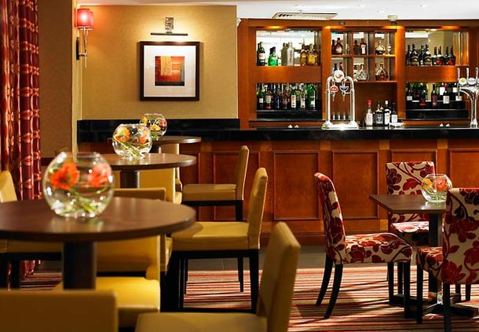 Liverpool Marriott Hotel City Centre Bar/salón