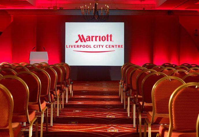 Liverpool Marriott Hotel City Centre Congreszaal