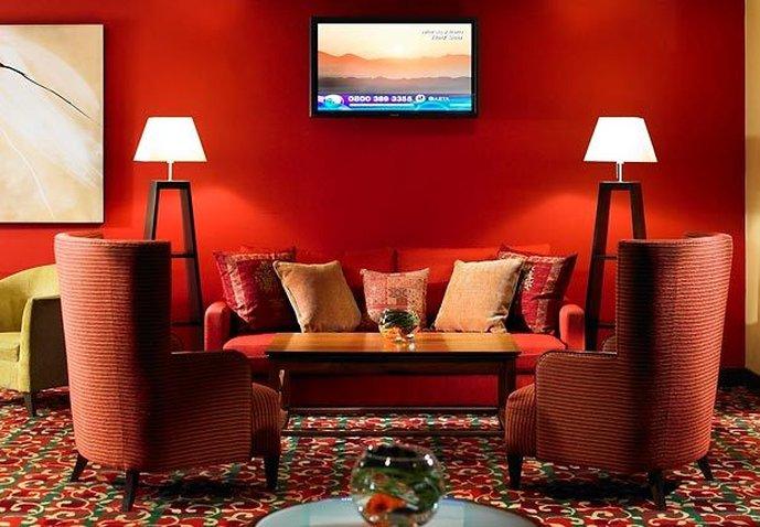Marriott Manchester Airport Hotel バー/ラウンジ