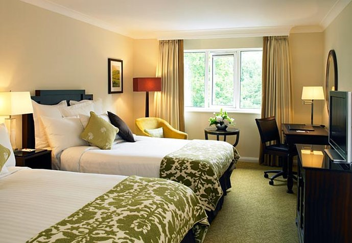 Worsley Park Marriott Hotel and Country Club Vista do quarto