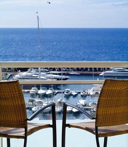 Marriott Riviera La Porte de Monaco Zimmeransicht