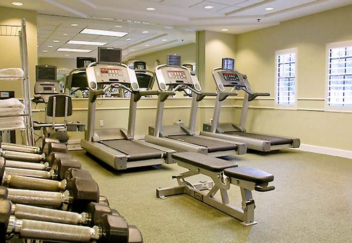 Hotel Residence Inn Miami Coconut Grove Fitness club