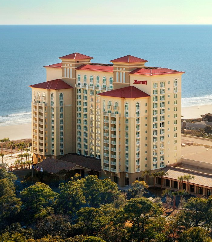 Marriott Myrtle Beach Resort at Grande Dunes Außenansicht