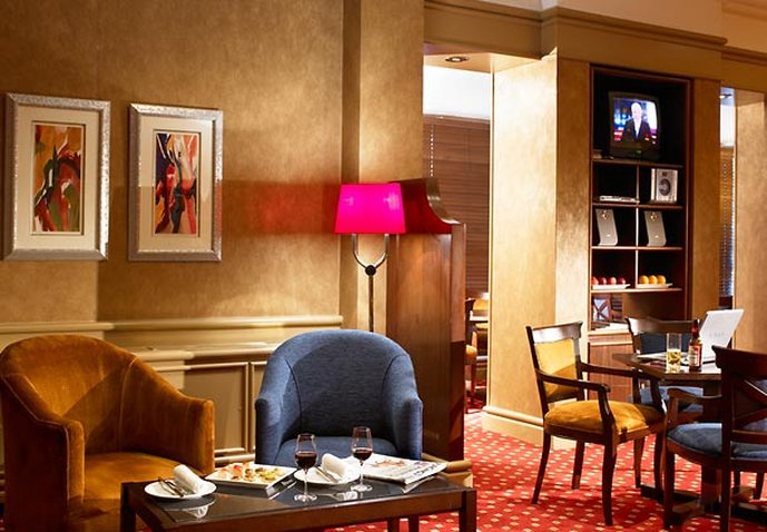Marriott Newcastle Gosforth Park Hotel Bar/Lounge