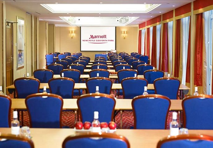 Marriott Newcastle Gosforth Park Hotel Konferensrum