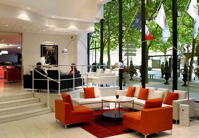 Paris Marriott Rive Gauche Hotel & Conference Center Bar/Lounge