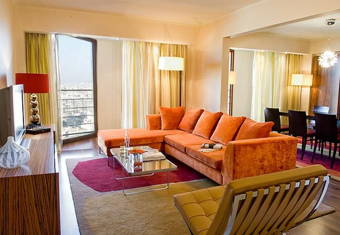 Paris Marriott Rive Gauche Hotel & Conference Center Zimmeransicht
