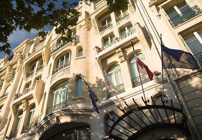 Paris Marriott Hotel Champs-Elysees Außenansicht