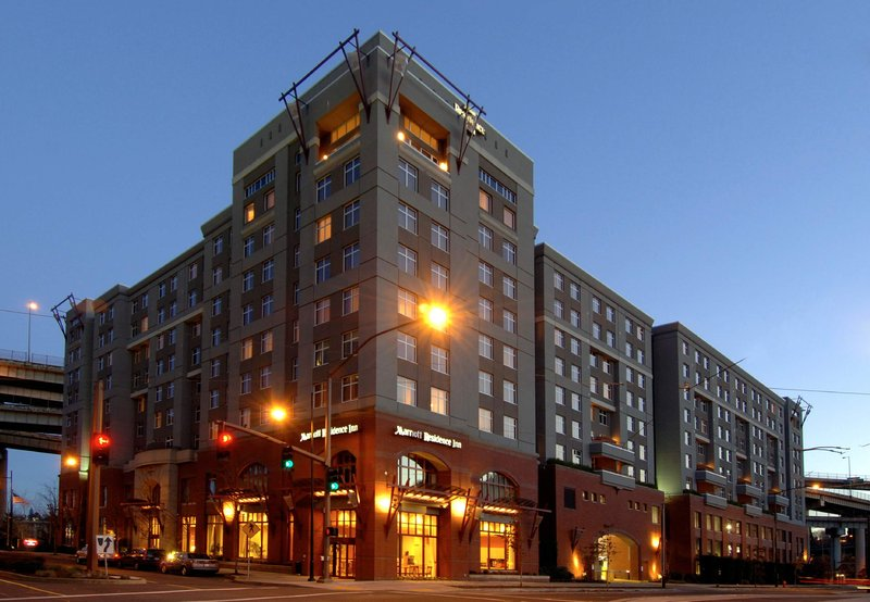 Residence Inn Portland Downtown RiverPlace Widok z zewnątrz
