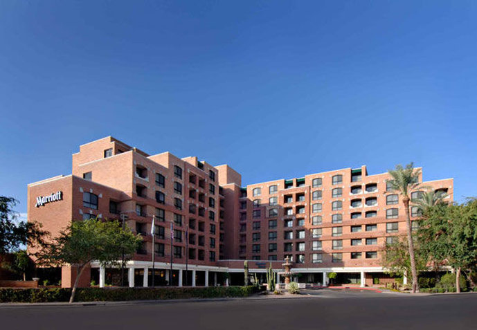 Hotel Scottsdale Marriott Suites Old Town Fasad