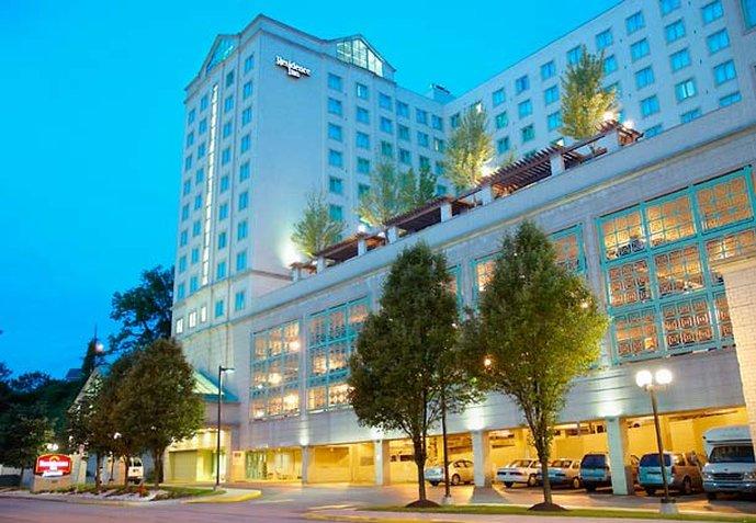 Residence Inn Pittsburgh Oakland Pohled zvenku