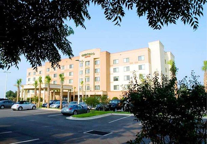 Courtyard Pensacola Downtown Außenansicht