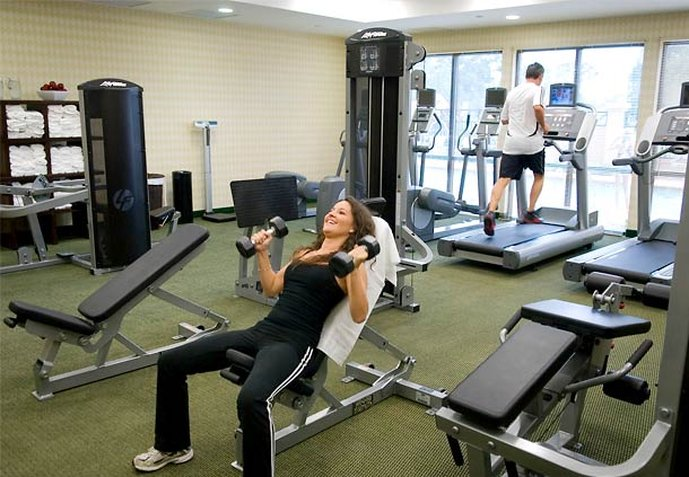 Courtyard Pensacola Downtown Fitness Club