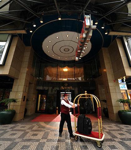 Prague Marriott Hotel Dış görünüş