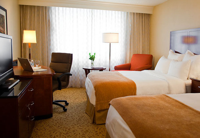 Marriott Raleigh Crabtree Valley Odanın görünümü