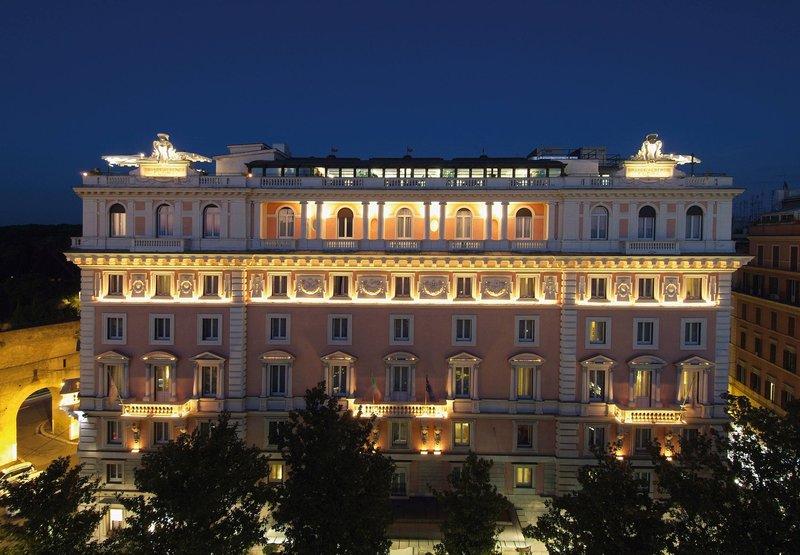 Marriott Rome Grand Flora Вид снаружи
