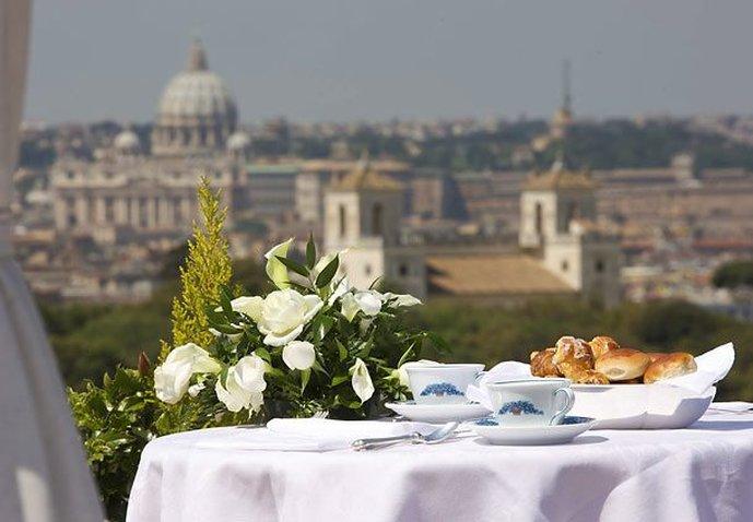 Marriott Rome Grand Flora Ресторанно-буфетное обслуживание
