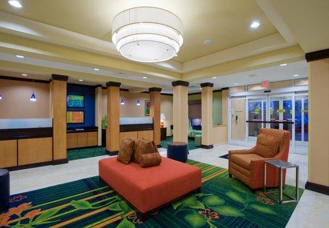 Fairfield Inn & Suites Albany - Lobby
