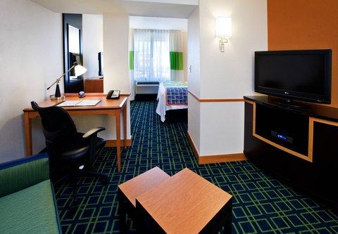 Fairfield Inn & Suites Albany - King Suite