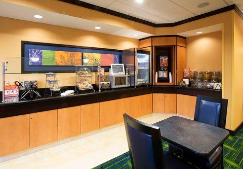 Fairfield Inn & Suites Albany - Breakfast Bar