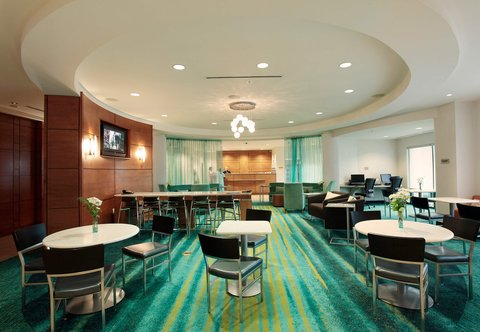 SpringHill Suites Athens - Breakfast Area