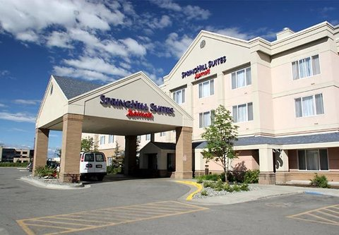 SpringHill Suites Anchorage Midtown - Entrance