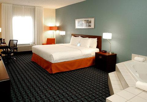 Fairfield Inn Kalamazoo West - Spa King Guest Room