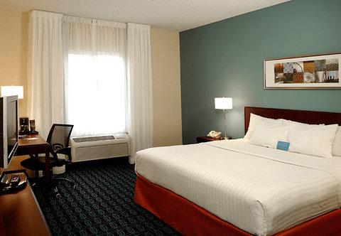 Fairfield Inn Kalamazoo West - King Guest Room
