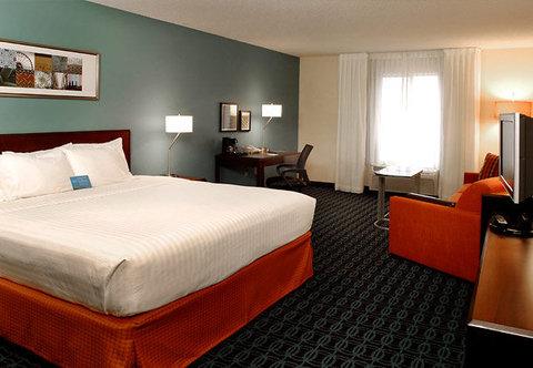Fairfield Inn Kalamazoo West - Larger King Guest Room