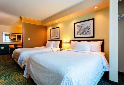 SpringHill Suites by Marriott Boston Devens Common Center - Queen Queen Suite