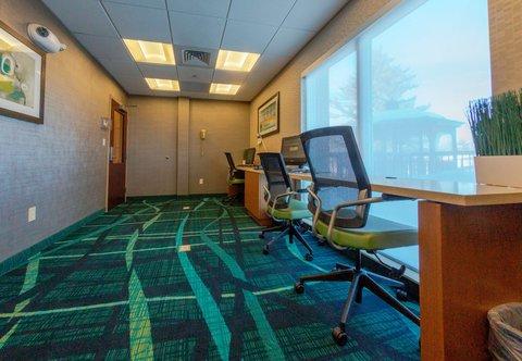 SpringHill Suites by Marriott Boston Devens Common Center - Business Center