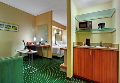 SpringHill Suites Baton Rouge North/Airport - Wet-Bar Area