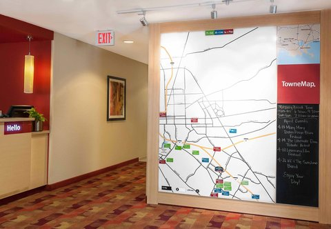 Towneplace Suites By Marriott Baton Rouge Hotel - TowneMap