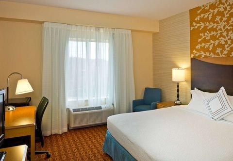 Fairfield Inn & Suites White Marsh - King Guest Room