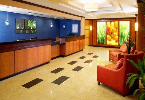 Fairfield Inn & Suites Cumberland - Lobby